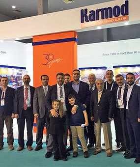 Karmod, מקבלת בברכה את אורחיה מ 123 מדינות ב- MUSIAD EXPO 2016