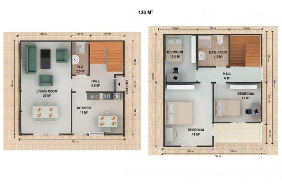 בית טרומי 130 מ