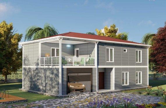 מבנים ניידים למגורים 206 מ