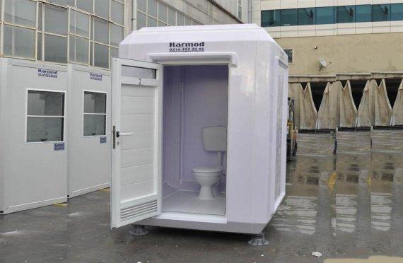 תא מקלחת ושירותים נייד 150x15