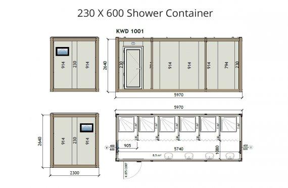 kw6-230x600-מקלחת-מכולה