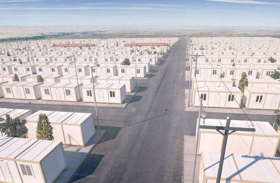 מקלט זמני לפליטים