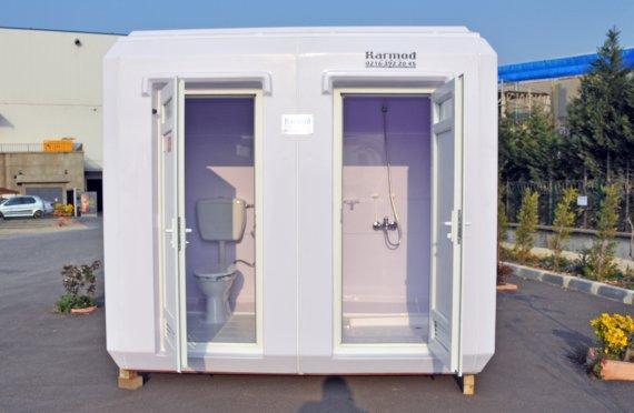 מבני מקלחות ושירותים יבילים