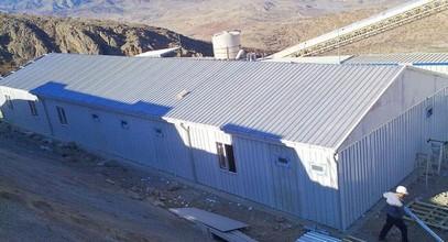בניין אתר-עבודה נמסר ל- Anagold כרייה בטורקיה