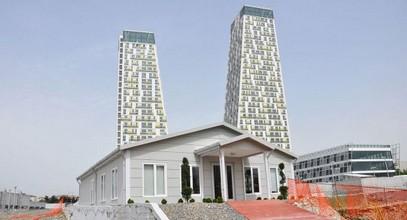 מונומנטו, הקמת בניין משרדי-מכירות ומידע בקרטל הושלמה