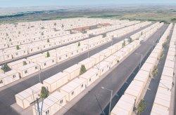 פרוייקט מכולות-דיור לפליטים סוריים