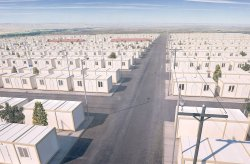 מבני מגורים ממכולות עבור מחנות פליטים