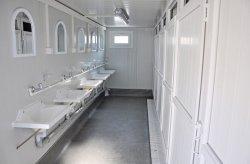 תאי שירותים/מקלחות ממכולות
